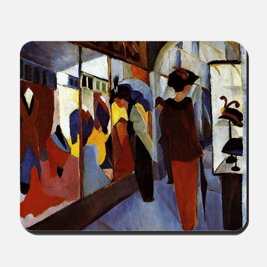 August Macke - Fashion Shop Mousepad
