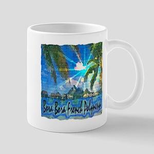 Bora Bora French Polynesia Mugs