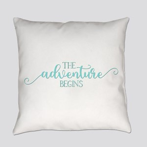 The Adventure Begins New Baby Everyday Pillow