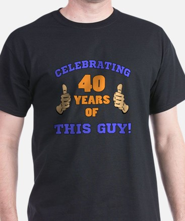 Celebrating 40th Birthday For Men T-Shirt