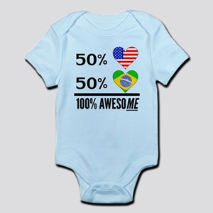 Half American Half Brazilian Body Suit