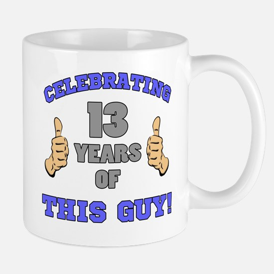Celebrating 13th Birthday For Men Mug