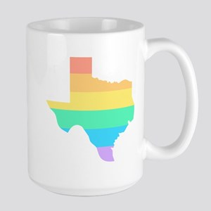 Texas Rainbow Mugs