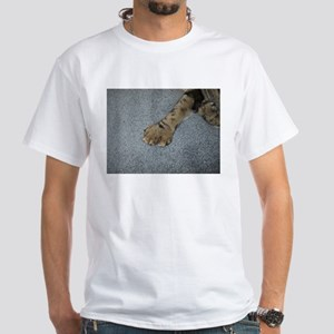 american polydactyl paw top T-Shirt