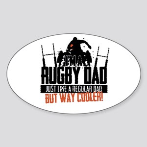 I'm A Rugby Dad, Just Like A Regular Dad B Sticker