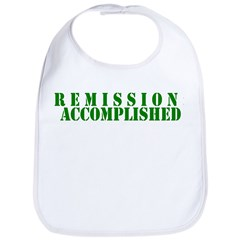 Remission Accomplished Bib