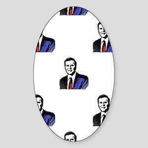 jeb bush Sticker (Oval)