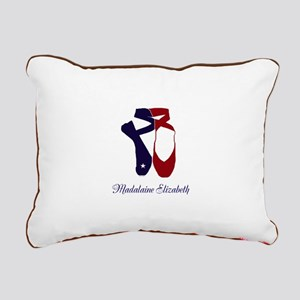 Team Pointe Ballet Ameri Rectangular Canvas Pillow
