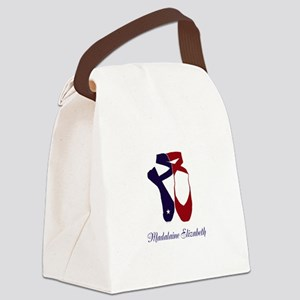 Team Pointe Ballet Americana Pers Canvas Lunch Bag