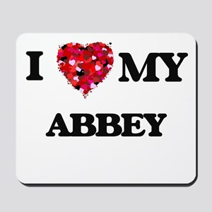 I love my Abbey Mousepad