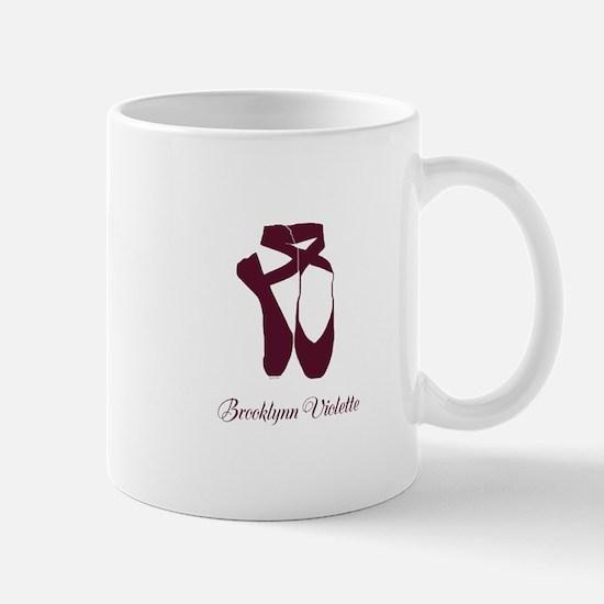 Team Pointe Ballet Amethyst Personalize Mug