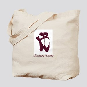 Team Pointe Ballet Amethyst Personalize Tote Bag