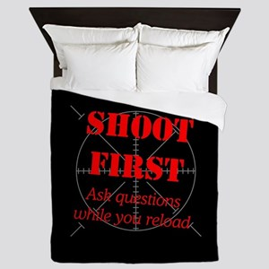 ASK QUESTIONS WHILE RELOAD Queen Duvet