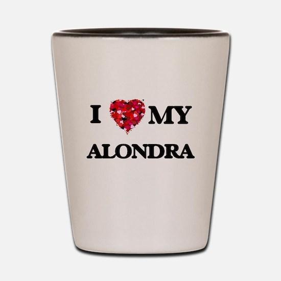I love my Alondra Shot Glass