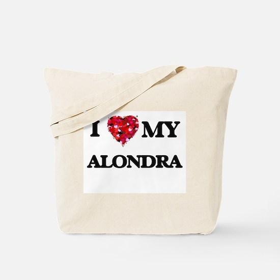 I love my Alondra Tote Bag