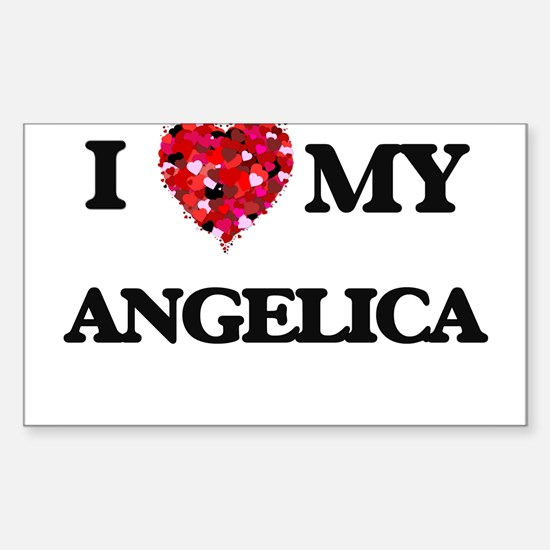 I love my Angelica Decal
