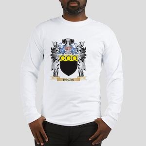 Hogan Coat of Arms - Family Cr Long Sleeve T-Shirt