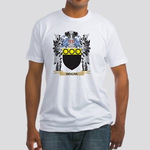 Hogan Coat of Arms - Family Crest Fitted T-Shirt