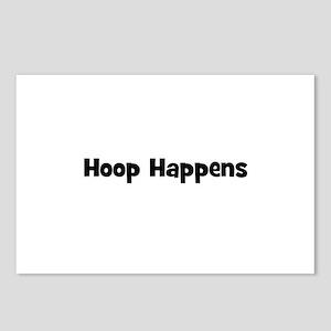 Hoop Happens Postcards (Package of 8)