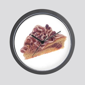 Danish Dessert Pastry Wall Clock