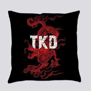 TKD Dragon Everyday Pillow