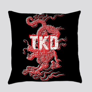 Taekwondo Dragon Everyday Pillow