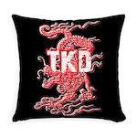 Taekwondo Dragon Everyday Pillow