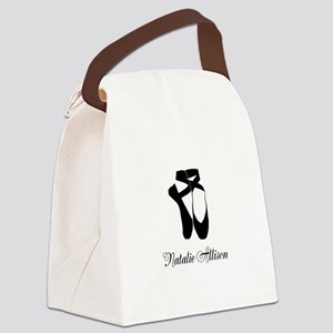 Team Pointe Ballet Midnight Perso Canvas Lunch Bag