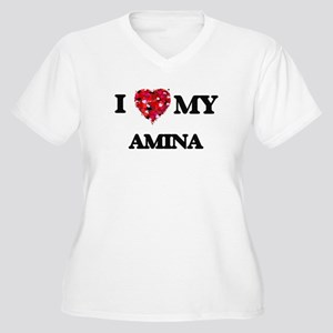 I love my Amina Plus Size T-Shirt