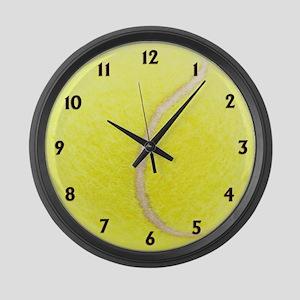 Tennis Sport Clock Large Wall Clock