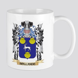 Hollande Coat of Arms - Family Crest Mugs