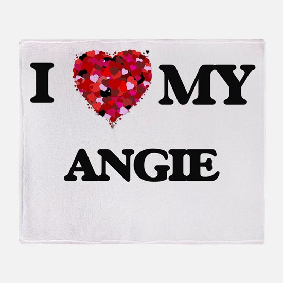 I love my Angie Throw Blanket