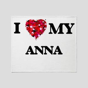 I love my Anna Throw Blanket