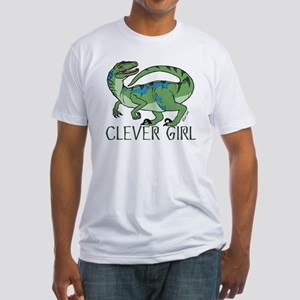 Clever Girl Fitted T-Shirt