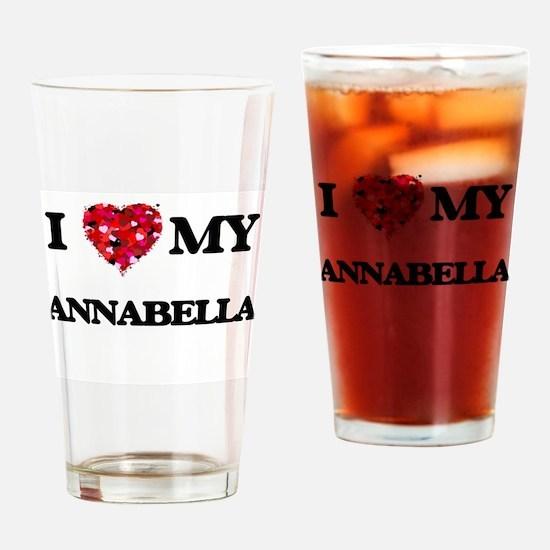I love my Annabella Drinking Glass