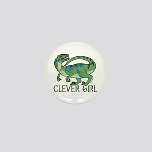 Clever Girl Mini Button