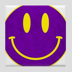 Happy FACE Louisiana State Tile Coaster