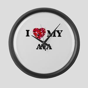 I love my Ava Large Wall Clock