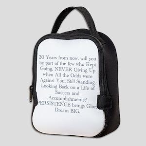 PERSISTENCE Neoprene Lunch Bag