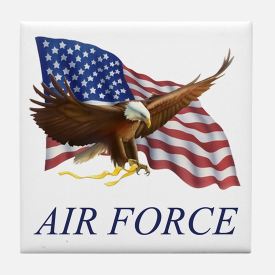 USAF Air Force Tile Coaster