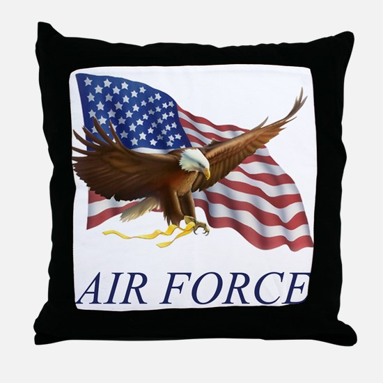 USAF Air Force Throw Pillow