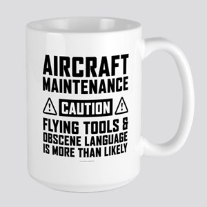 Aircraft Maintenance Caution Mugs