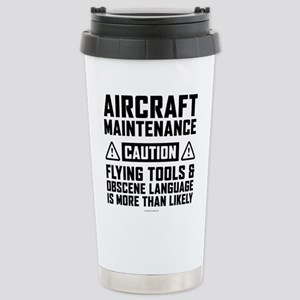Aircraft Maintenance Ca Stainless Steel Travel Mug