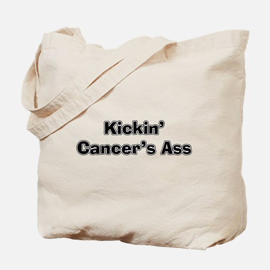 Kicking Cancer's Ass Tote Bag