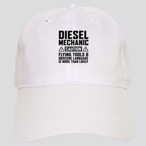Diesel Mechanic Caution Cap