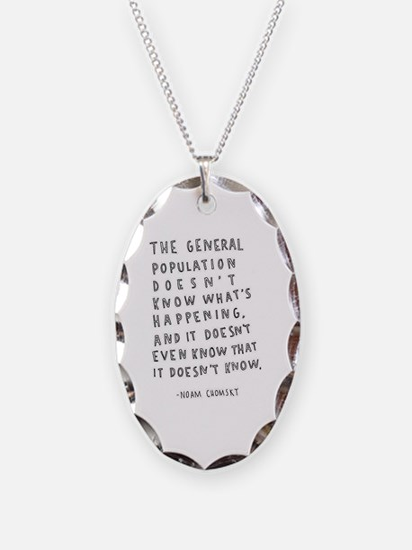 Unique Words Necklace
