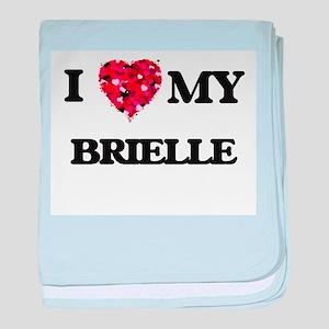 I love my Brielle baby blanket