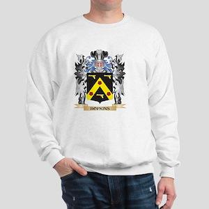 Hopkins Coat of Arms - Family Crest Sweatshirt