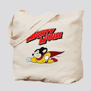 Mighty Mouse Logo10 Tote Bag