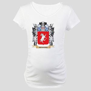 Horring Coat of Arms - Family Cr Maternity T-Shirt